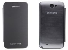 GCI Flip Cover For Samsung Galaxy Note2 (Black)