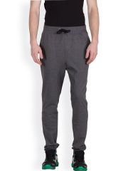 Hypernation Dark Grey Double Drop Crotch Pant