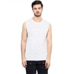 Hypernation Printed Men's Round Neck Muscle T-Shirt-HYPM0826