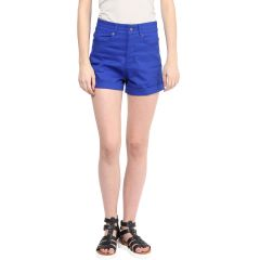Hypernation Solid Women's Chino Shorts_HYPM0710