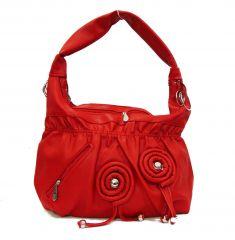 Estoss Women's Clothing - Estoss MEST2057 Red Designer Handbag