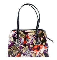 Estoss Print Design  Multicolor Handbag - MEST3252