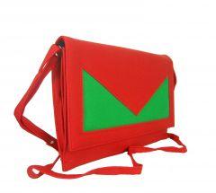Estoss MEST940 Red Designer Sling Bag