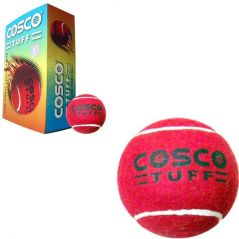 Cosco Heavy Weight Cricket & Tennis Balls Packed In Box - Pack Of 6 Balls