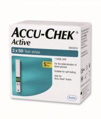Accu chek Health & Fitness - Active 100 Strips