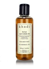 Khadi Anti Cellulite Oil (FOR FAT BURNING)- Paraben Free & No Mineral Oil