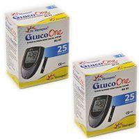 50 Test Strips For Bg-03 Dr. Morepen Gluco One Blood Sugar Glucose