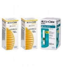 Active Test Strip 100 Strips With 100 Softclix Lancets