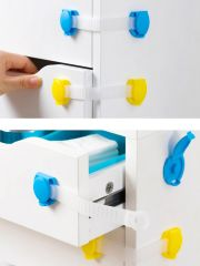 BrandAxis Child Safety Cupboard Drawer Lock M061546001