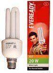 Eveready Home Decor & Furnishing - EVEREADY CFL-20 watt 2 PCS (cell 4 pcs FREE)