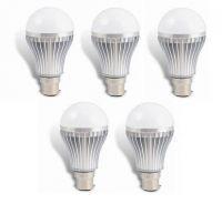 LED Bulb 5w Bright White Light LED Bulb Saving Energy 1 Set Of 5 Pcs.