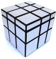 Puzzles, Cubes - Shengshou 3x3 Silver Mirror Cube
