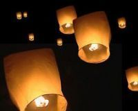 Sky Lantern 10 Pcs Pack Wish Lamp Sky Light Air Balloons
