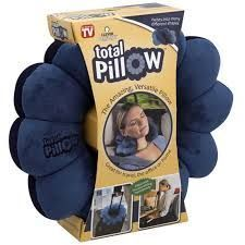 Pillows - Total Comfort Twist Travel Neck Pillow For Back And Head
