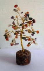 FENG SHUI GEM STONE TREE CRYSTAL TREE FOR POSITIVE ENERGY