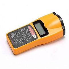 LCD Ultrasonic Laser Pointer Distance Measurer 60ft Ultrasonic Distance M