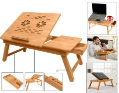 Shop or Gift Multipurpose Wooden Foldable Laptop / Study Table Online.