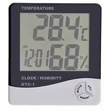 Digital LCD Hygrometer Htc-1 2 In 1 Temperature Thermometer Humidity Meter