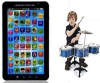 P1000 Kids Educational Tablet With Jazz Drum Set