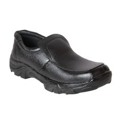 Leather Soft Genuine Leather Casual Black Shoes - (Code -LS-AWD-01-BK)