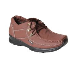 Leather Soft Genuine Leather Casual Tan Shoes - (Code -LS-K2-TAN)