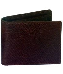 Sondagar Arts Brown Colour Mens Genuine Leather Wallet
