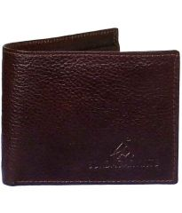Sondagar Arts Men's Top Quality Brown Genuine Leather Wallets For Men