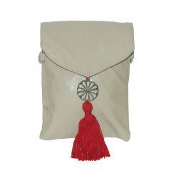 Arabian Nights Morrocan Style Women's Grey Cotton Sling Bag (Product Code - AN-SLING BG-GREY)