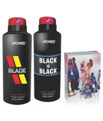 Archies  Deo Blade & Black Is Bkack + Perfume City Gang-(Code-VJ636)