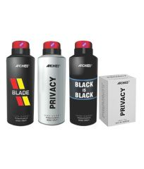 Archies  Deo Blade & Black Is Bkack & Privacy + Perfume Privacy-(Code-VJ658)