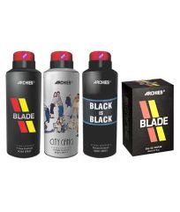 Archies  Deo City Gang & Blade & Black Is Bkack  + Perfume Blade-(Code-VJ662)