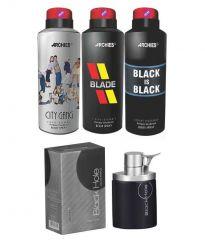 Archies  Deo City Gang & Blade & Black Is Bkack  + Perfume Black Hole-(Code-VJ682)