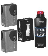 Archies  Perfume Black Is Black & Black Hole & Black Hole & Deo Black Is Black-(Code-VJ762)