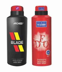 Archies Deodorants - Archies  Deo Blade & Vijohn Deo Pure-(Code-VJ832)