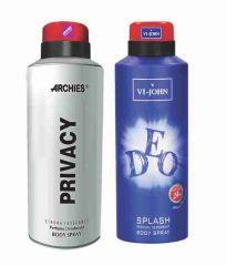 Archies Deodorants - Archies  Deo Privacy & Vijohn Deo Splash-(Code-VJ833)