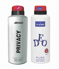 Archies Personal Care & Beauty - Archies  Deo Privacy & Vijohn Deo Energetic-(Code-VJ834)