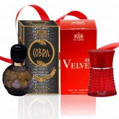 Couple Perfume Gift Set Cobra 60ml & RED VELVET30ml (PACK 2)