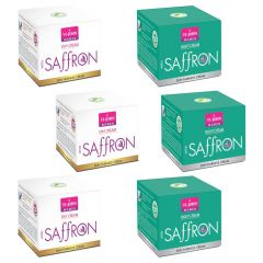 SAFFRON DAY/NIGHT CREAM 50GM Set of 6 (Each 3)