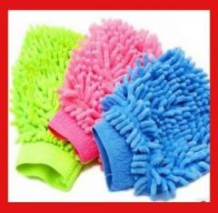Microfibre Cleaning Mitt, Micro Fibre Cloth Glove