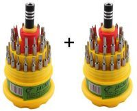 Dh Buy 1 Get 1 Free Jackly 31 In 1 Screw Driver Set Magnetic Toolkit