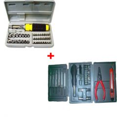 41ps Toolkit With 24ps Hobby Tool Kit