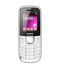 Shop or Gift Adcom Guru X10 White with whats app & Facebook Online.