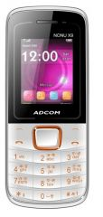 Shop or Gift Adcom Nonu X9 White with Whatsapp Online.