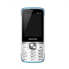 Adcom X15 (boss) Dual Sim Mobile-white & Blue With Manufacturer Warranty