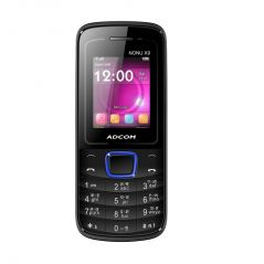 Shop or Gift Adcom Nonu X9 BLACK with Whatsapp Online.