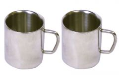 Dynamic Store Set Of 2 Double Wall Small Sober Cups - DS_145