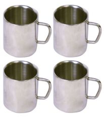 Dynamic Store Set Of 4 Double Wall Small Sober Cups - DS_155