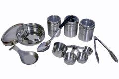 Dynamic Store Set Of 8 Kitchen Utility Set Large- Single Spoon Rest - DS_187