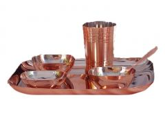 Dynamic Store 6 Pcs Dinner Set With Bottom Copper Plating - DS_305