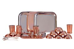 Dynamic Store 24 Pcs Dinner Set With Bottom Copper Plating - DS_307